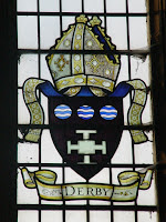 window inside Derby Cathedral