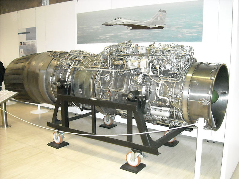 File:Klimov RD-33 turbofan engine.JPG