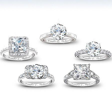 Personalized Diamonesk Ring: Bridal Ring