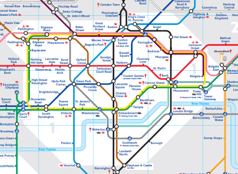 Tfl Maps Pdf Tfl Tube Map Pdf | Color 2018