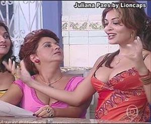 Juliana Paes sensual nas novelas O Clone e Dona do Pedaço
