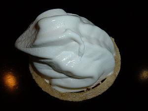 A vanilla ice cream cone