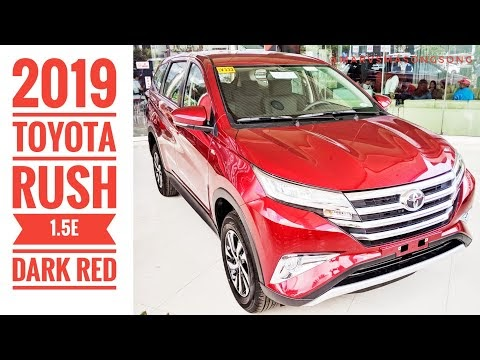 Video: 2019 Toyota RUSH 1.5E | Dark Red (Walk Around w/ Interior)
