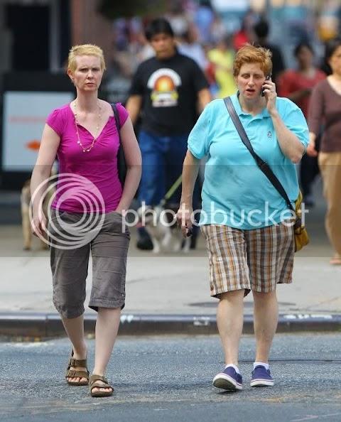 cynthia nixon e la moglie, lesbo power a new york
