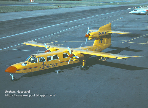 G-JOEY Britten-Norman BN-2A Mk.III-2 Trislander by Jersey Airport Photography