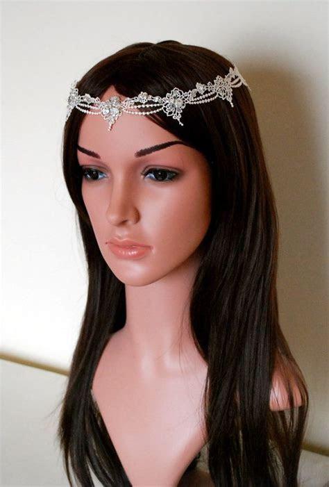 Best 25  Forehead headband ideas on Pinterest   Bridal