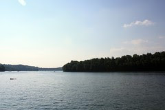 Canoeing at Summersville Lake