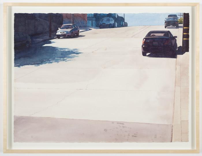 Robert Bechtle, Six Cars on 20th Street