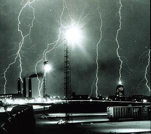 Lightning storm over Boston - NOAA