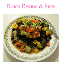 MEAL ICON blackbeans and rice