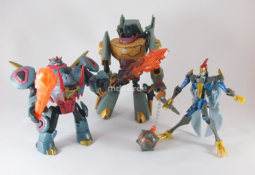 Transformers Animated Dinobots - modo robot