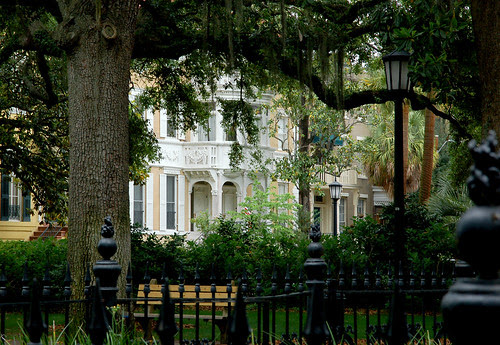 Historic Home and a Savannah Square