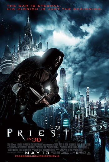 Priest 2011 Dual Audio ORG Hindi 300MB BluRay 480p ESubs
