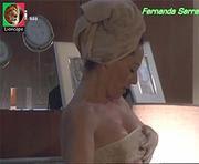 Fernanda Serrano sensual na novela Sedução