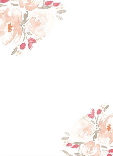 Watercolor Bouquet Wedding Invitations   Print ideas