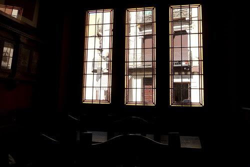 casa de comidas castellana, interior