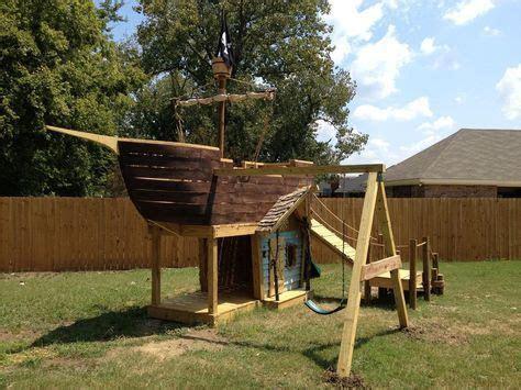 piratenschiff spielplatz selber bauen pin pins