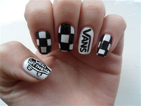 vans nails nail art gallery