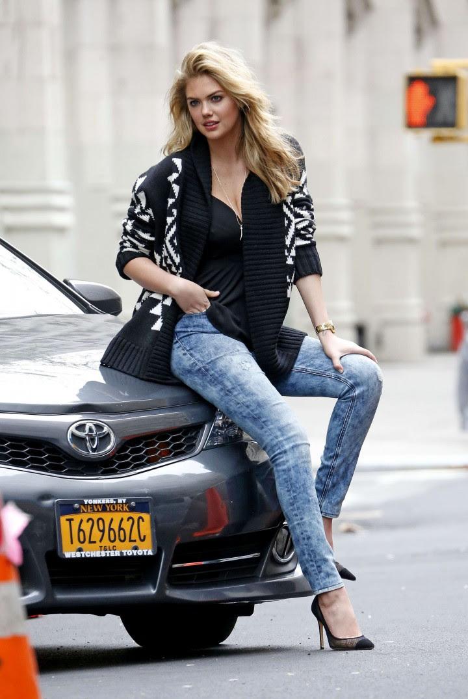 Kate Upton Street Photoshoot in NYC -34