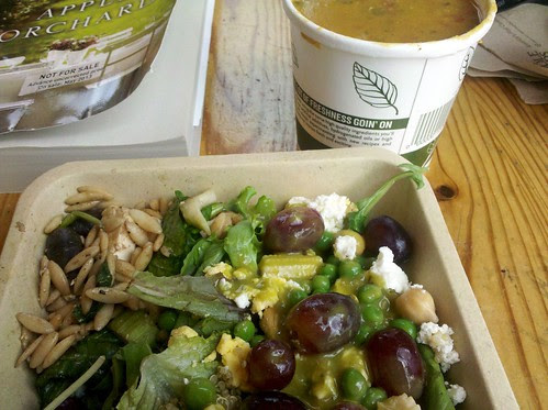 Lunch at Whole Foods