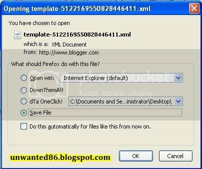 Tutorial Backup Template Blog