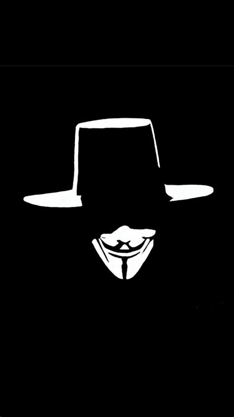 cool iphone  wallpaper  anonymous mask hd