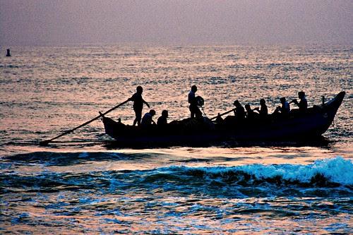 Let us sail till we become frail ...