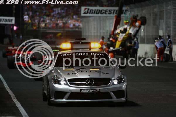 SC Piquet GP Singapur 2008