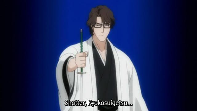 Sosuke Aizen Zanpakuto Kyoka Suigetsu Sword Replica
