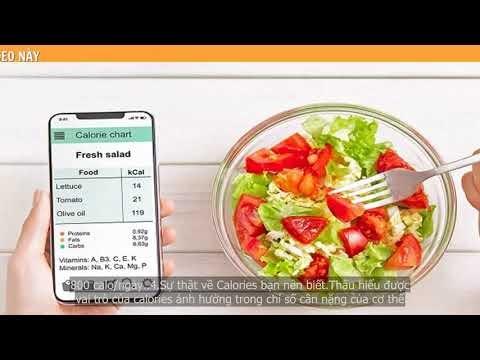 Calories là gì? Cung cấp bao nhiêu calo một ngày và cách cân bằng lượng ...
