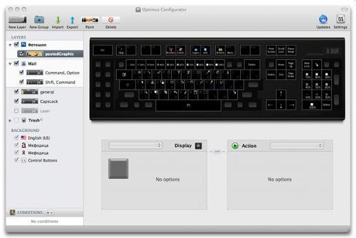 Optimus Keyboard With Display