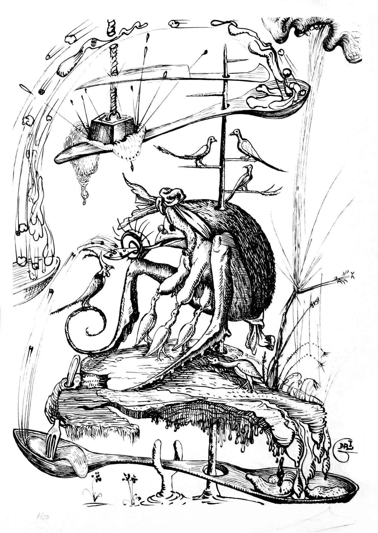 Salvador Dali - Pantagruel 14 (1974)