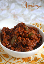 Avakaya Andhra Mango Pickle Recipe