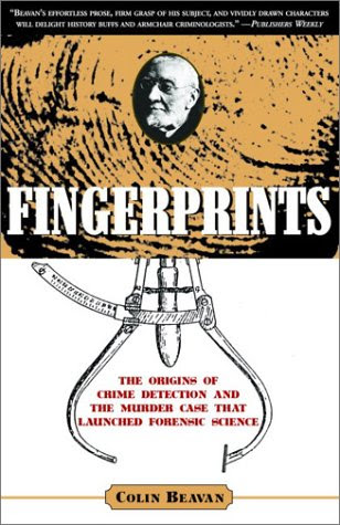 Fingerprints by Colin Beavan book cover