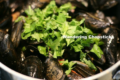 Moules Frites (Belgian Mussels with Fries) 8