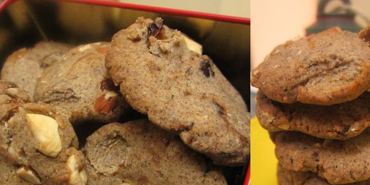 Easiest Way to Make Appetizing Ragi, Bajra and Wholewheat Shortbread Cookies with Pumpkin Pie Spice
