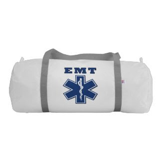 EMT Star of Life Gym Duffel Bag
