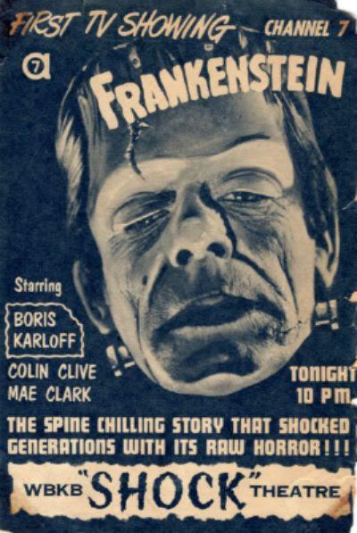 Frankenstein TV Ad Shock Theater