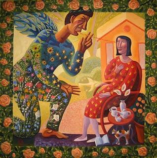 Painted by James B. Janknegt