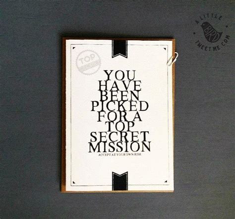 Will You Be Groomsman Proposal Card. Top Secret Best Man