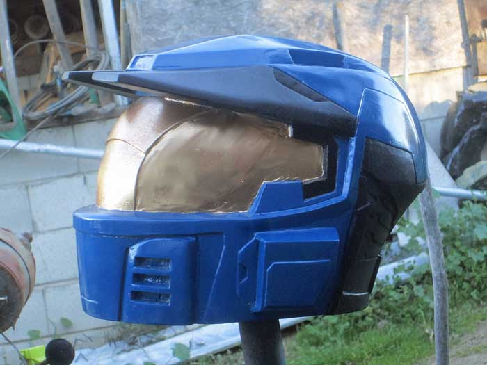 Caboose Helmet Prototype finished