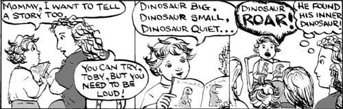 Home Spun comic strip #148
