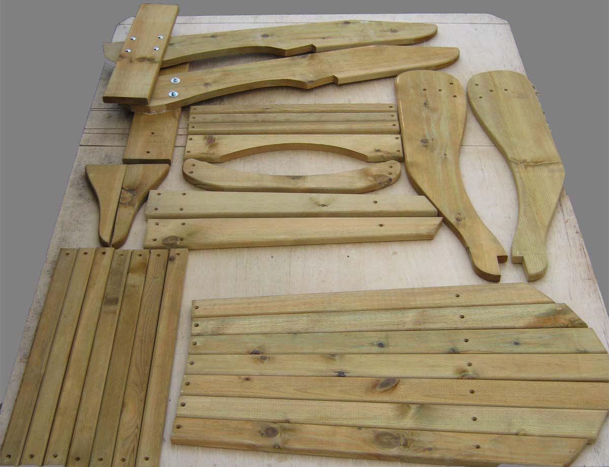 Karen Adirondack Chair Kits Details