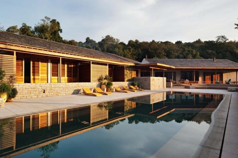 Casa quinta da baronesa gui paoliello arquiteto tecno haus for Casa quinta moderna