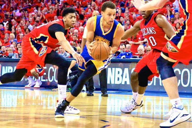 Warriors vs. Pelicans: Game 3 Score and Twitter Reaction from 2015 NBA Playoffs