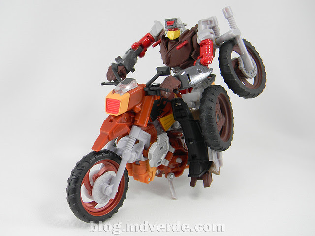 Transformers Scrapheap United Deluxe - Custom - modo robot vs Wreck-Gar