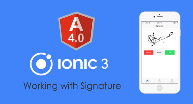 Real time awesome scripts    : Ionic 3 and Angular 4: Working with
