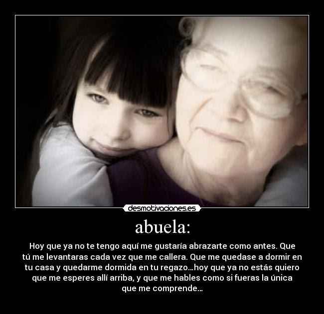 Frases De Amor Para Abuelos Fallecidos Imagui