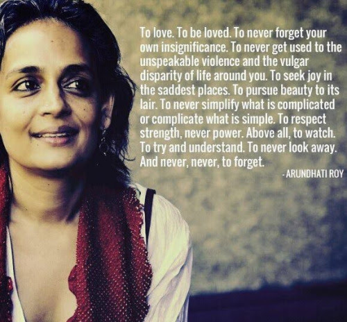 Arundhati Roy Quotes and Sayings