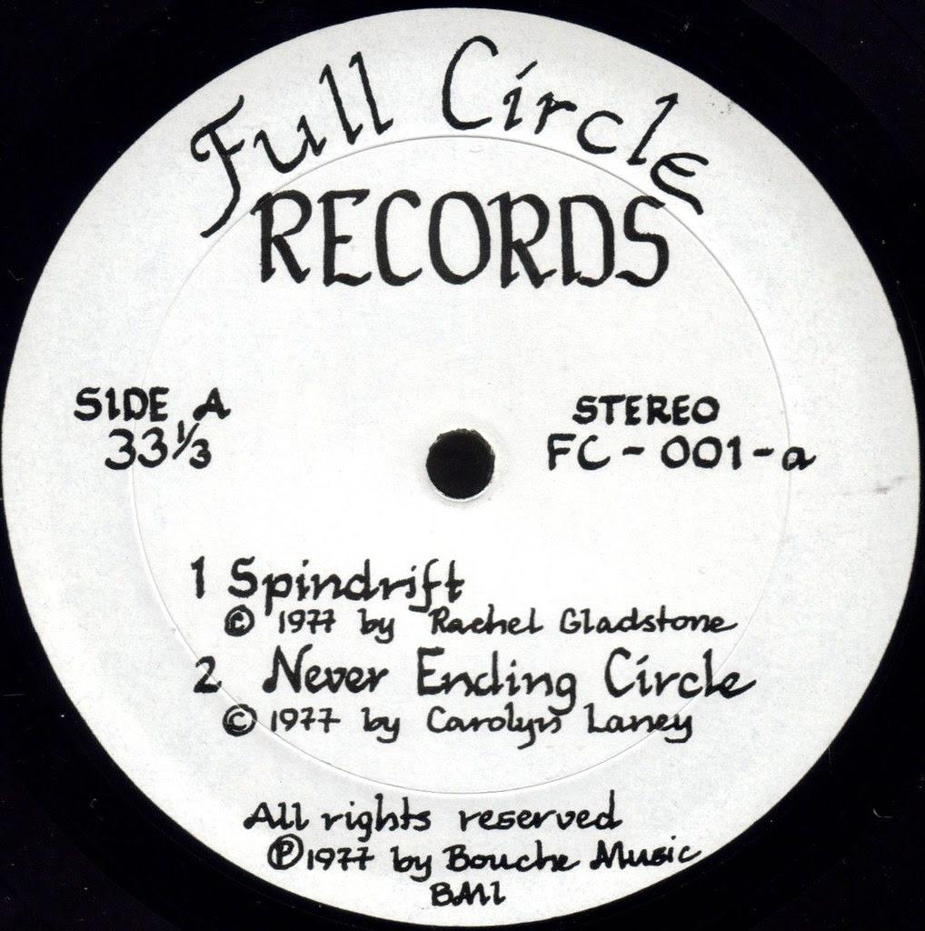 Circle label A
